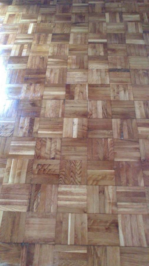 piso completo acuchillado y lijado
