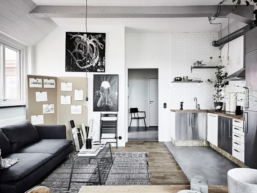 5 pisos peque os que enamoran ideas reformas viviendas - Reformas pisos pequenos ...
