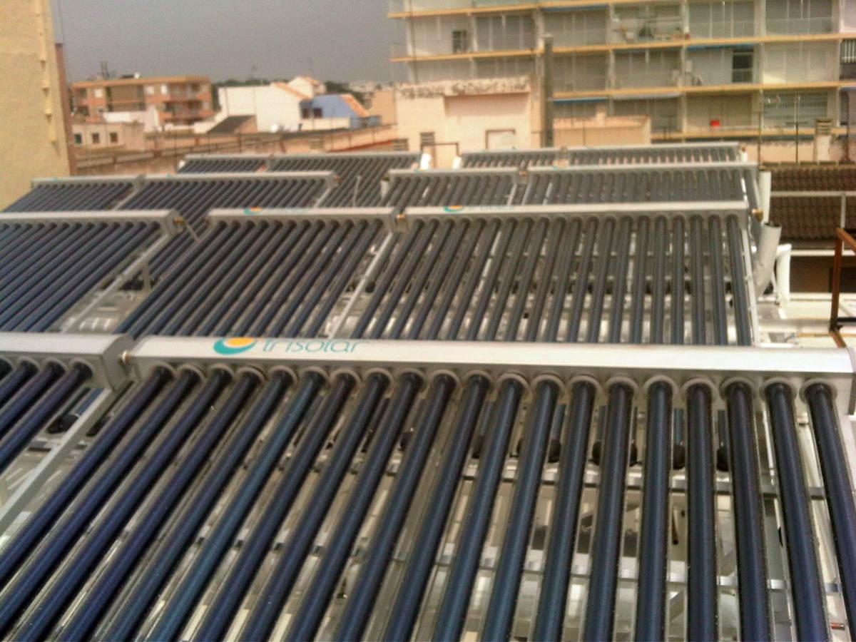 Instalaci n placas solares tubulares ideas energ as for Placas solares precios
