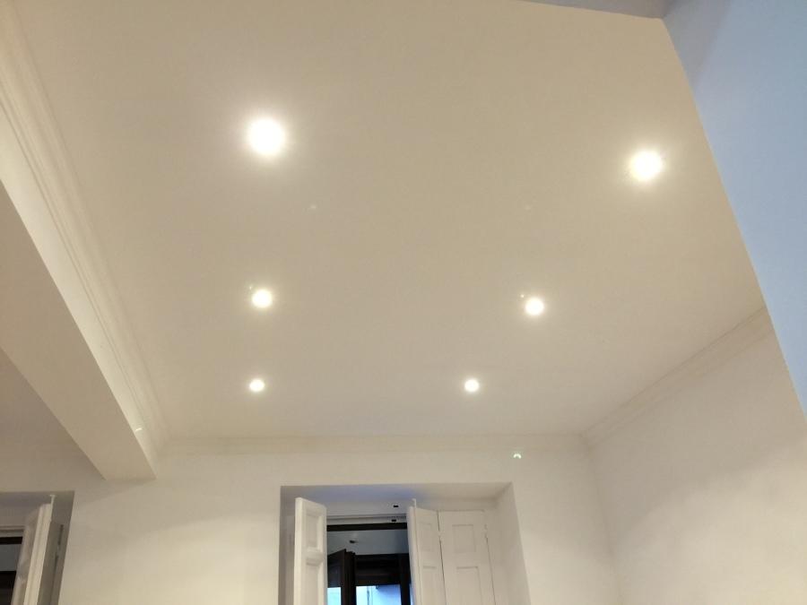 Pladur techo salón