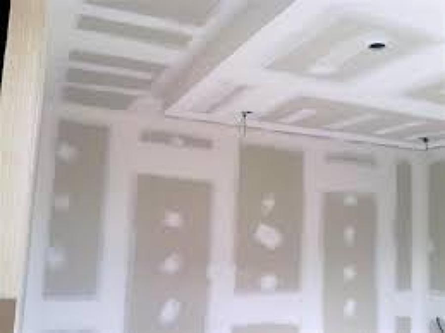 Foto pladur de aislamientos santa cruz 680997 habitissimo - Fotos de techos de pladur ...