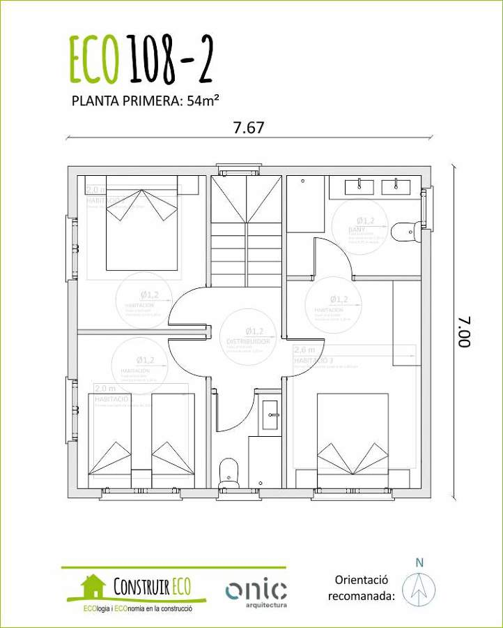 Plano 108m2