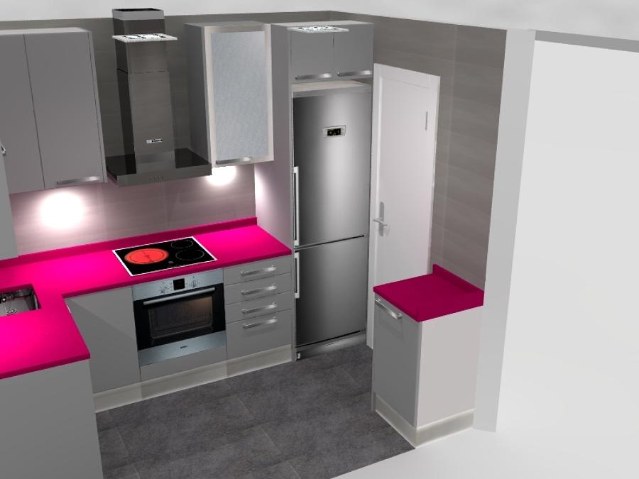 Dise o 3d ideas reformas cocinas - Diseno 3d cocinas ...