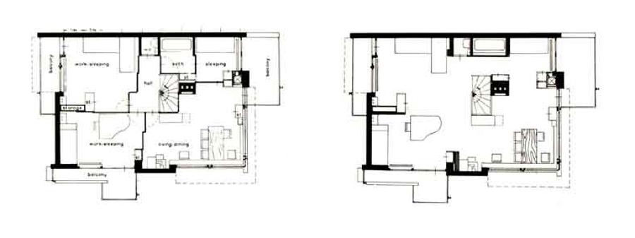 Plano casa Schröder