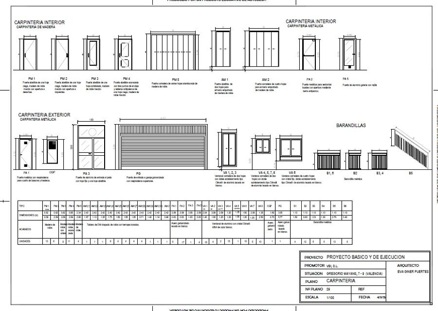 foto plano de carpinteria de eg diseny 1076338 habitissimo