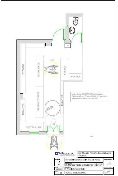 Foto plano de fruter a mobiliario de gesti n proditec for Mobiliario para planos