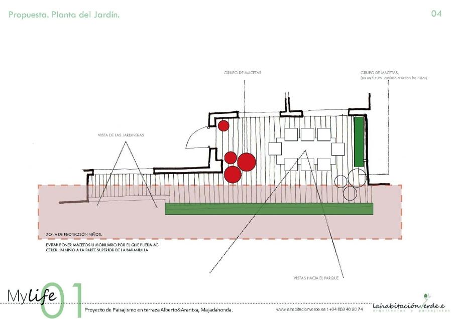 Plano esquema de la propuesta