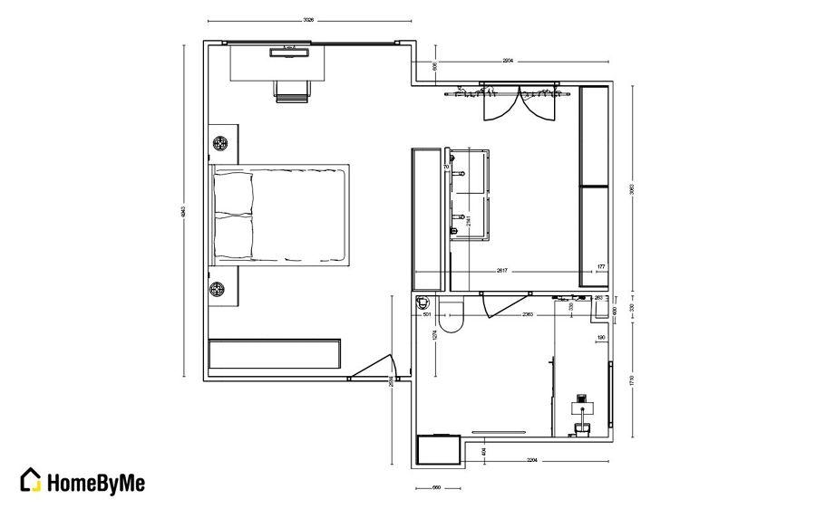 Reforma vivienda ideas reformas viviendas for Plano habitacion