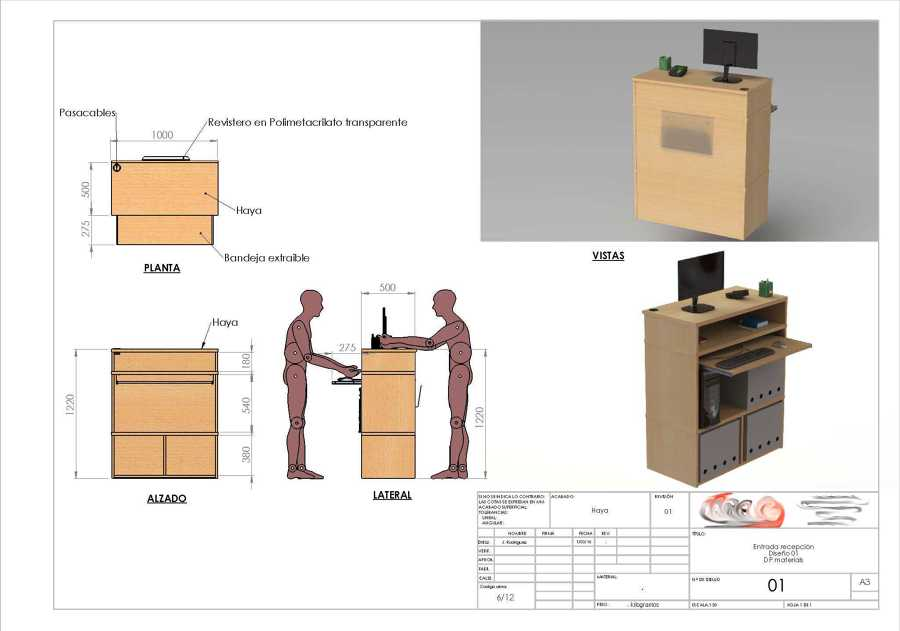 Mueble Recepcion Para Ferreteria Tarragona Ideas