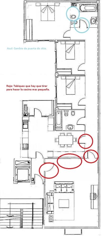 Foto plano vivienda 120m2 de crea formas 212484 for Hacer plano vivienda