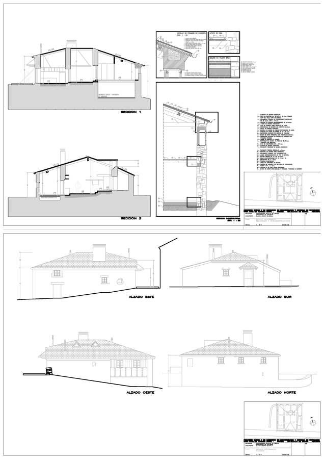 Rehabilitaci n de vivienda en lugo ideas arquitectos - Arquitectos lugo ...