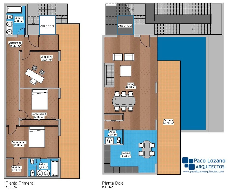 Planos de la vivienda