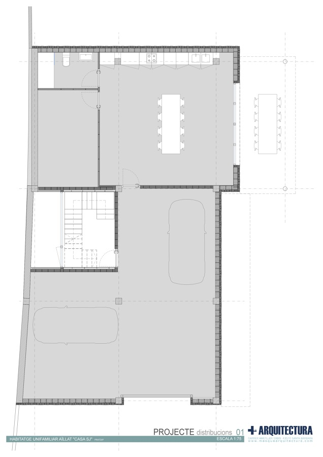 Casa jis en tarragona ideas arquitectos for Casa minimalista tarragona