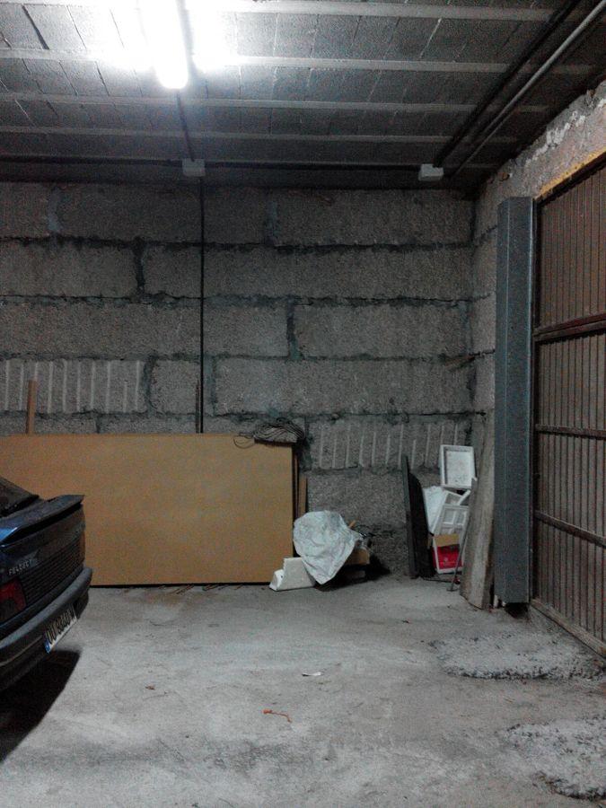 Planta baja de la vivienda con uso estacionamiento-almacén