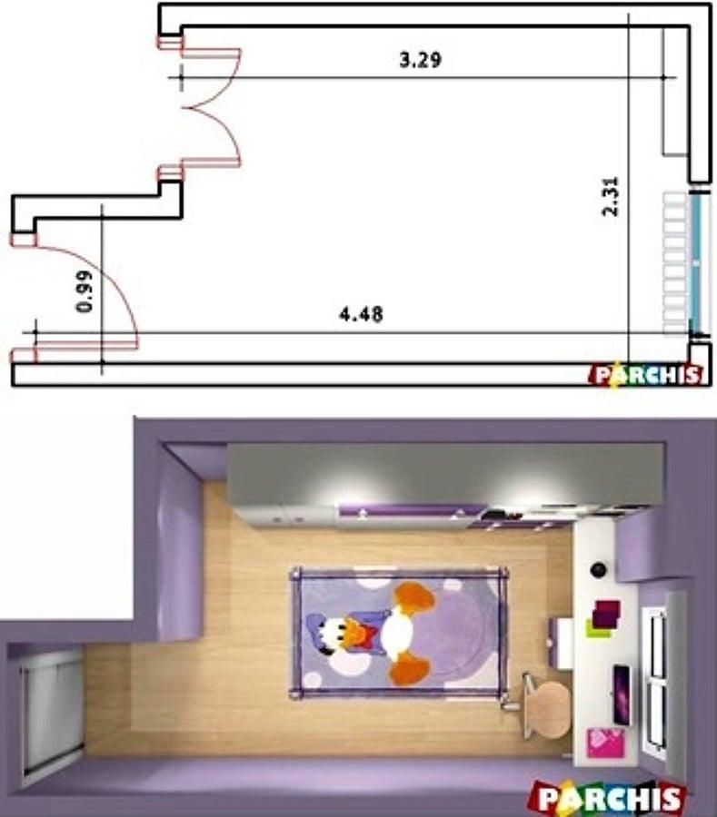 Muebles abatibles camas abatibles verticales ideas muebles - Medidas camas infantiles ...