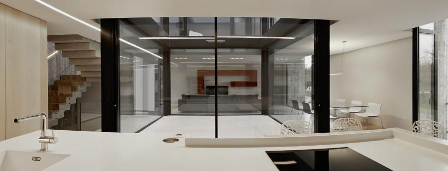 Cocina vivienda minimalista