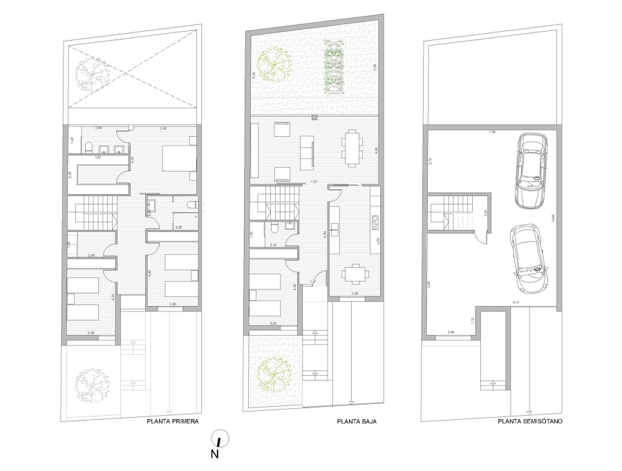 2 viviendas en huercal overa ideas arquitectos - Casas en huercal overa ...