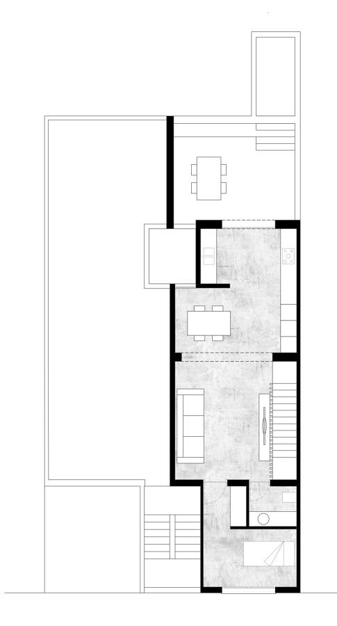 Planta Piso 2 proyecto, Casa SL