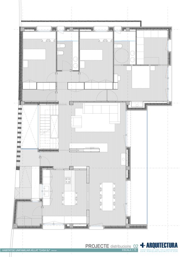Casa jis en tarragona ideas arquitectos - Arquitectos tarragona ...