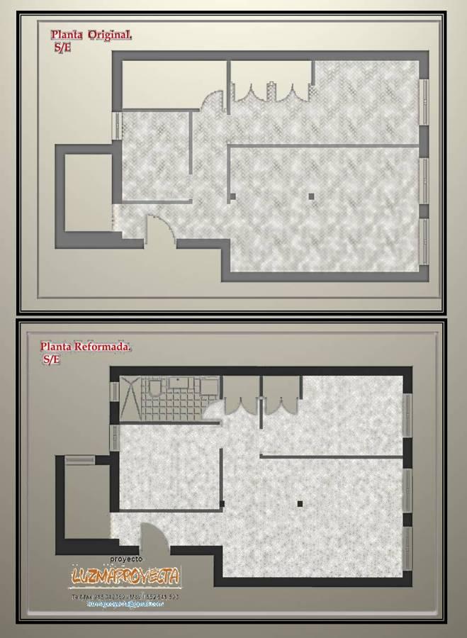 Reforma de un apartamento en el barrio de embajadores for Distribucion apartamento 50 m2