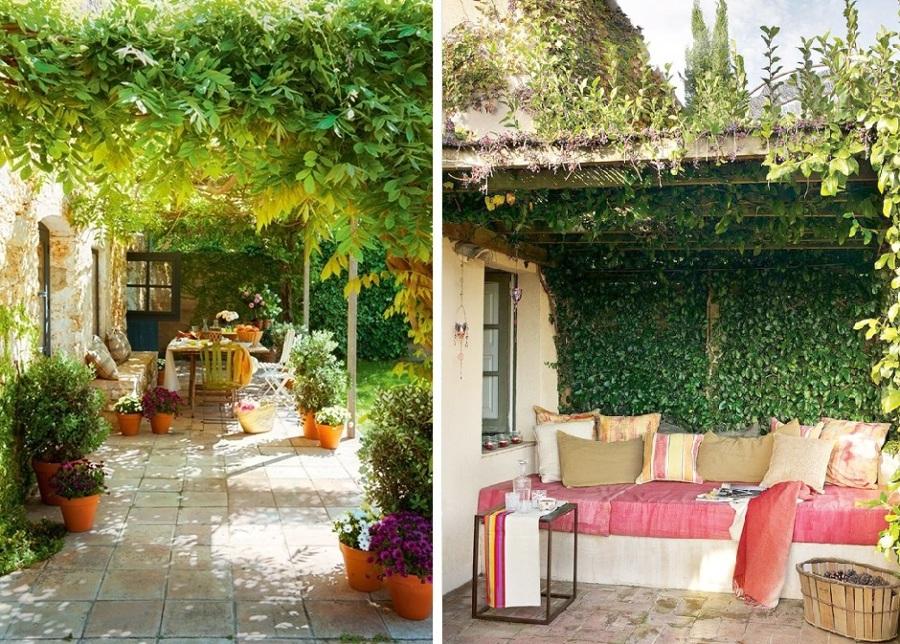 Disfruta de tu terraza sin miedo al sol cinco soluciones for Casa in stile ranch con veranda