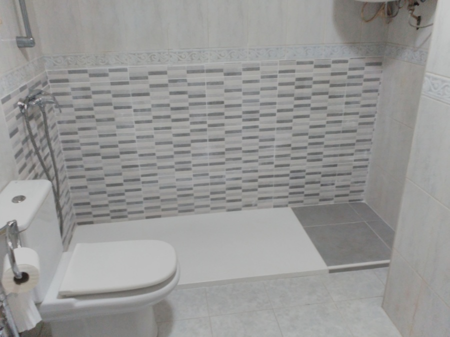 Cambio de ba era por plato de ducha antideslizante ideas for Cambiar banera por ducha sin obras
