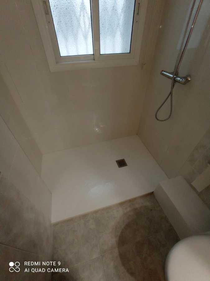 Plato de ducha acabado