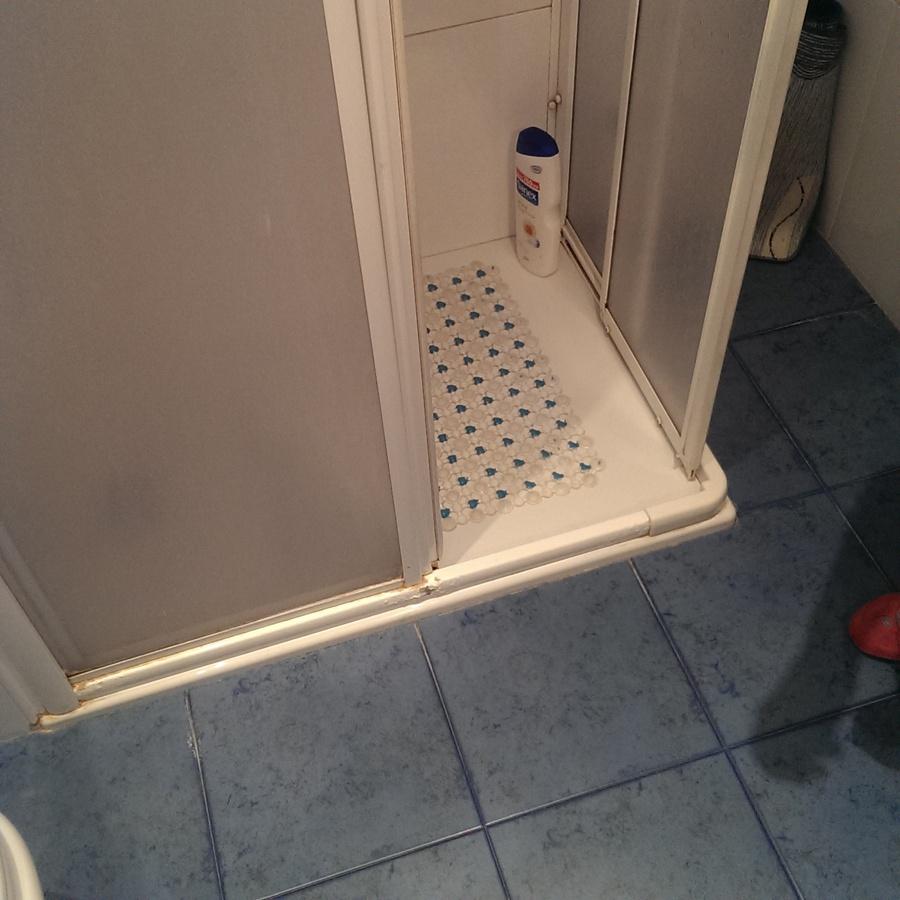 Plato de ducha antiguo