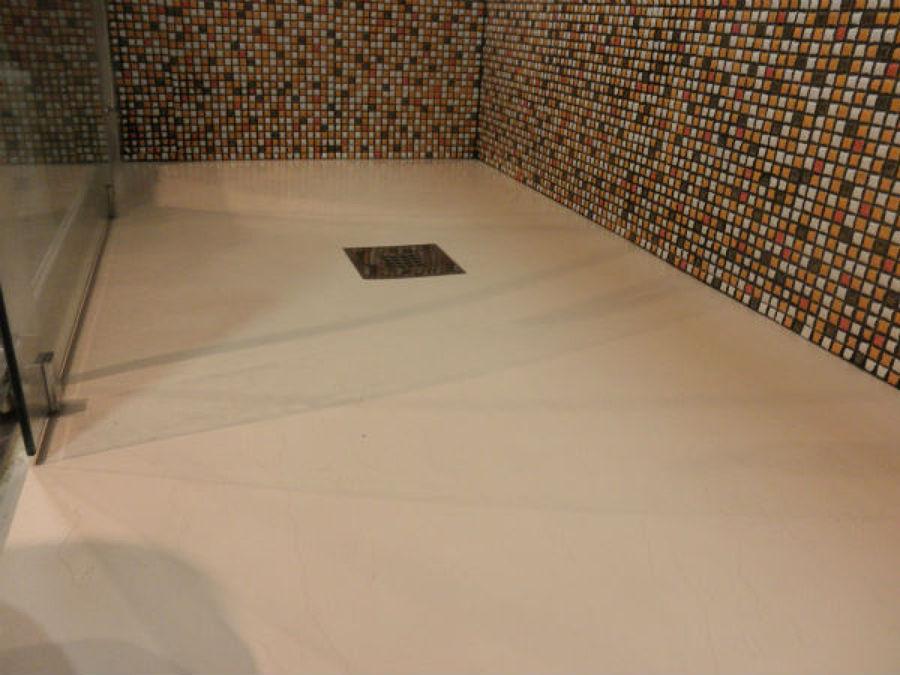 Ventajas de los platos de ducha extraplanos ideas - Platos de ducha minerales ...