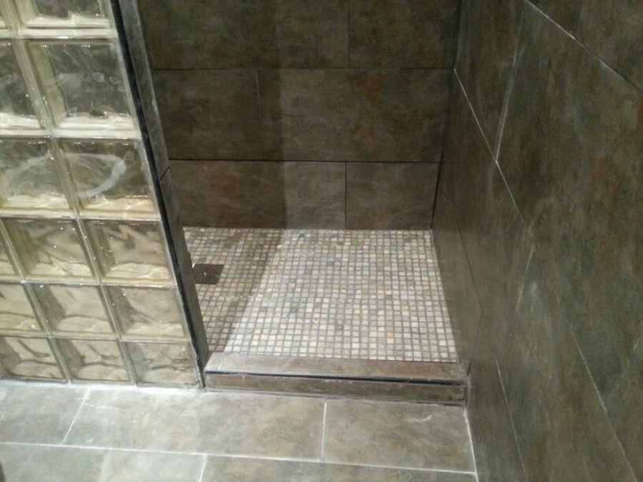 Foto plato de ducha de obra de marcel 1112022 habitissimo - Plato de ducha de obra ...