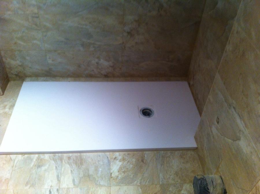 Plato de ducha extraplano de resina