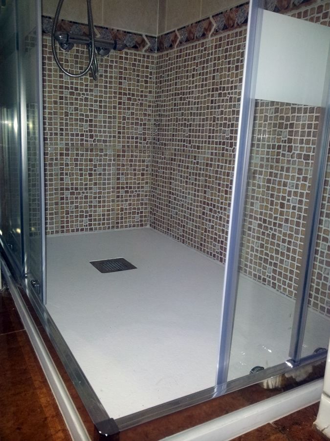 Plato de ducha por bañera en 1 día