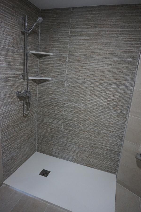 Cuarto de ba o varias maneras de hacer detalles ideas - Azulejos para duchas de obra ...