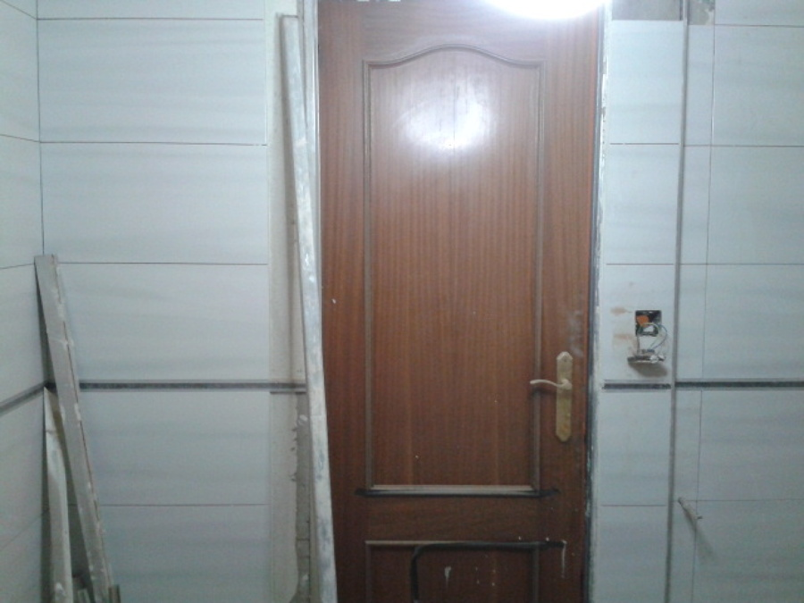 Plomada de puerta de cocina