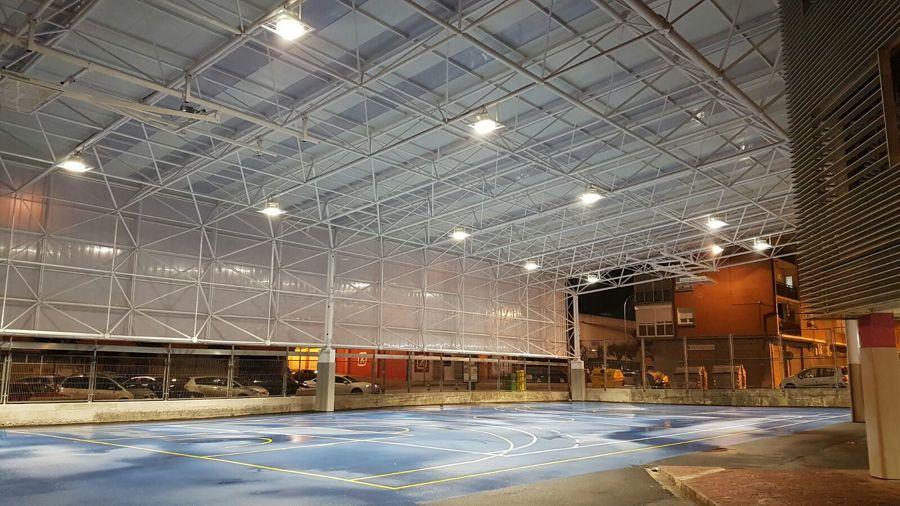 Polideportivo LED