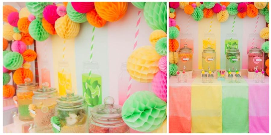 Foto pompones de seda para fiesta de marta 884414 - Como hacer pompones para decorar fiestas ...