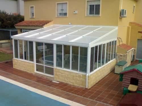 Cerramiento de porche ideas carpinter a aluminio - Porches de aluminio y cristal ...