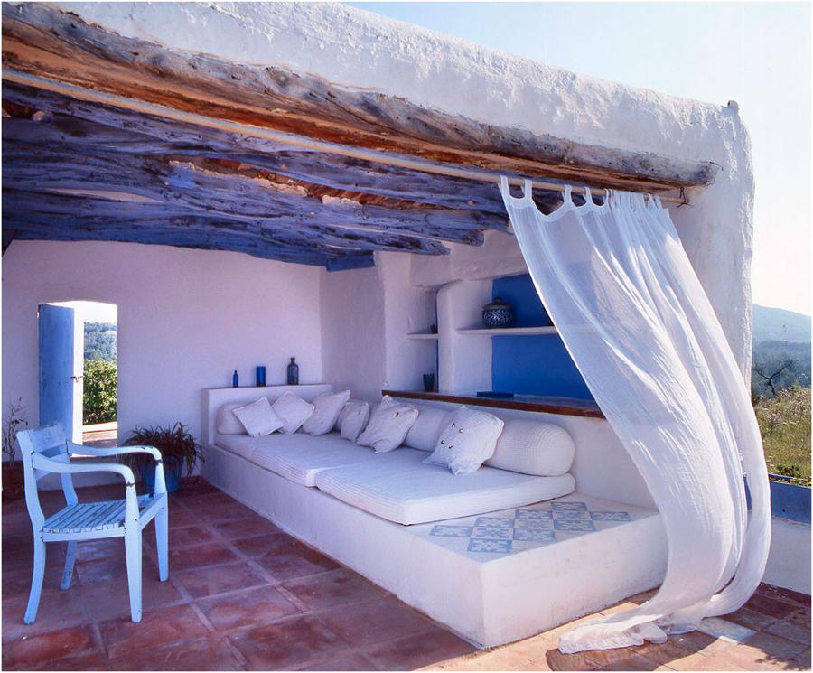 Ibiza mix c mo conseguir una terraza de estilo ibicenco for Terrazas ibicencas