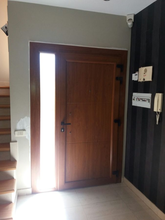 Porta d'entrada vista internament
