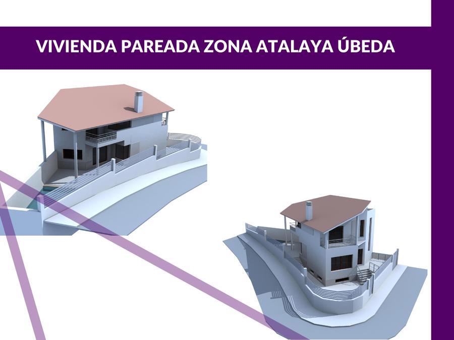 Vivienda pareada zona atalaya beda ideas arquitectos - Arquitectos en ubeda ...