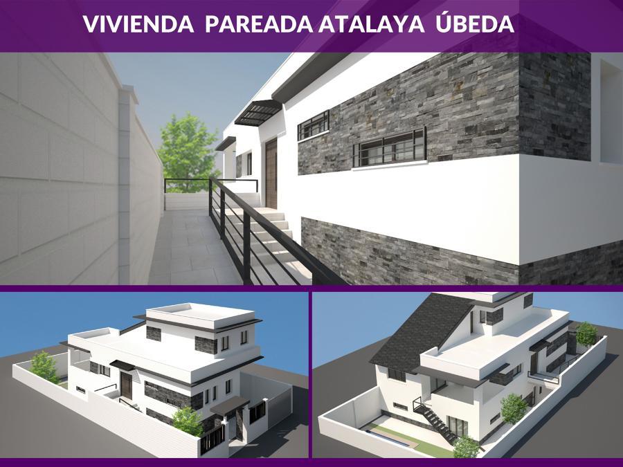 Vivienda pareada atalaya beda ideas arquitectos - Arquitectos en ubeda ...