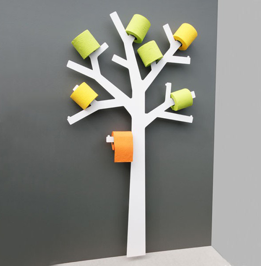 Formas Ingeniosas De Almacenar El Papel Higi Nico Ideas