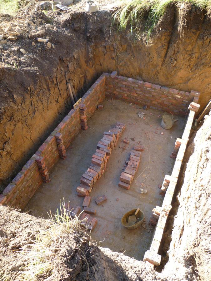 pozo septico construccion