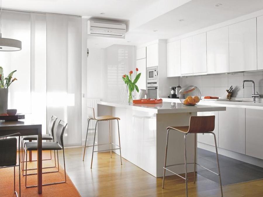 Es una buena idea unir la cocina y el sal n ideas for Modelo de cocina abierta en el comedor