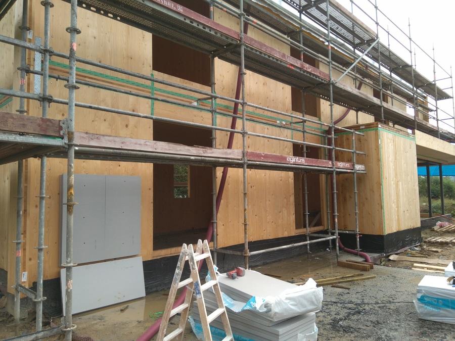 Preparación de la fachada