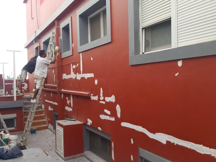 Pintura exterior de vivienda ideas pintores - Imprimacion para paredes ...