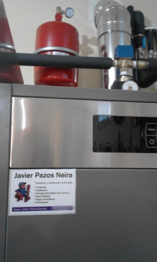 Instalaci n de calefacci n y agua caliente sanitaria con - Caldera calefaccion pellets ...