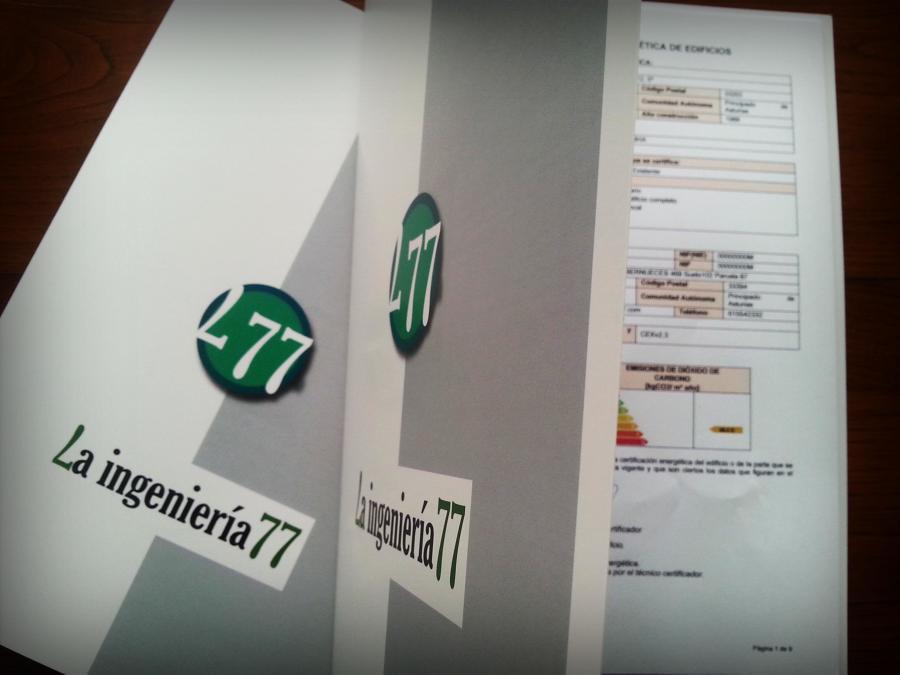 Certificados Energéticos. Carpetas de Presentación