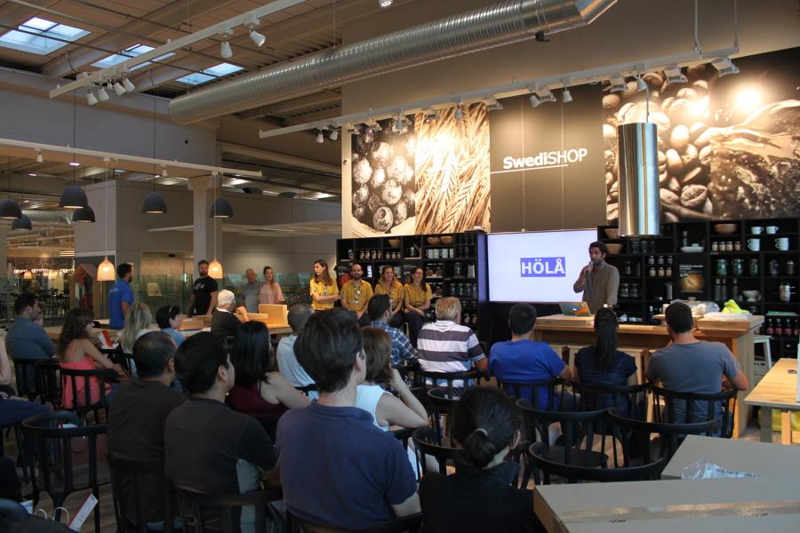 Presentación evento