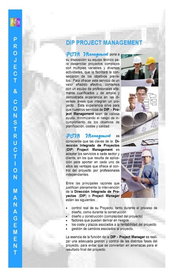 Presentación Servicios de Project & Construction Management